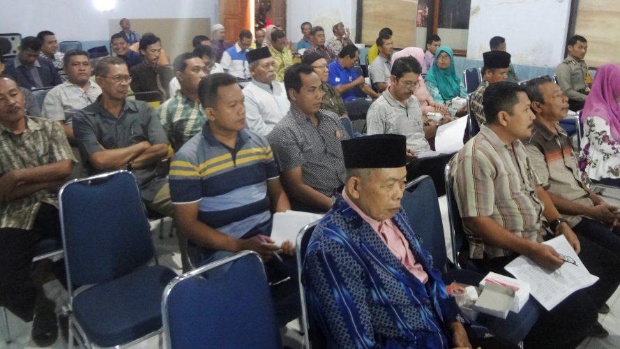 Musyawarah Perencanaan Pembangunan Kelurahan Josenan Tahun 2019