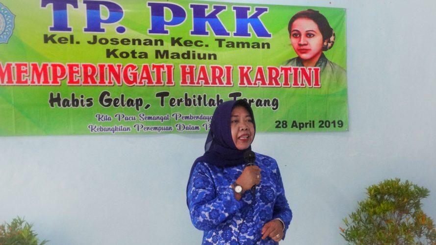 Ibu-Ibu TP-PKK Kelurahan Josenan Mengadakan Lomba Paduan Suara Dalam Rangka Memperingati Hari Kartini Tahun 2019