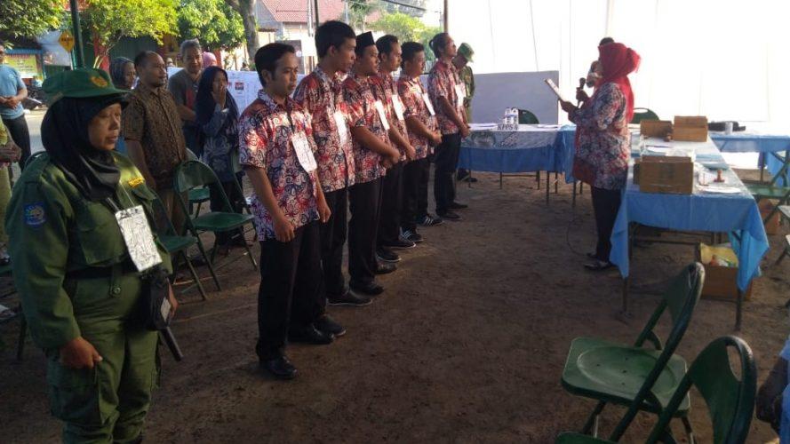 Pelaksanaan Pemilu 2019 di Kelurahan Josenan