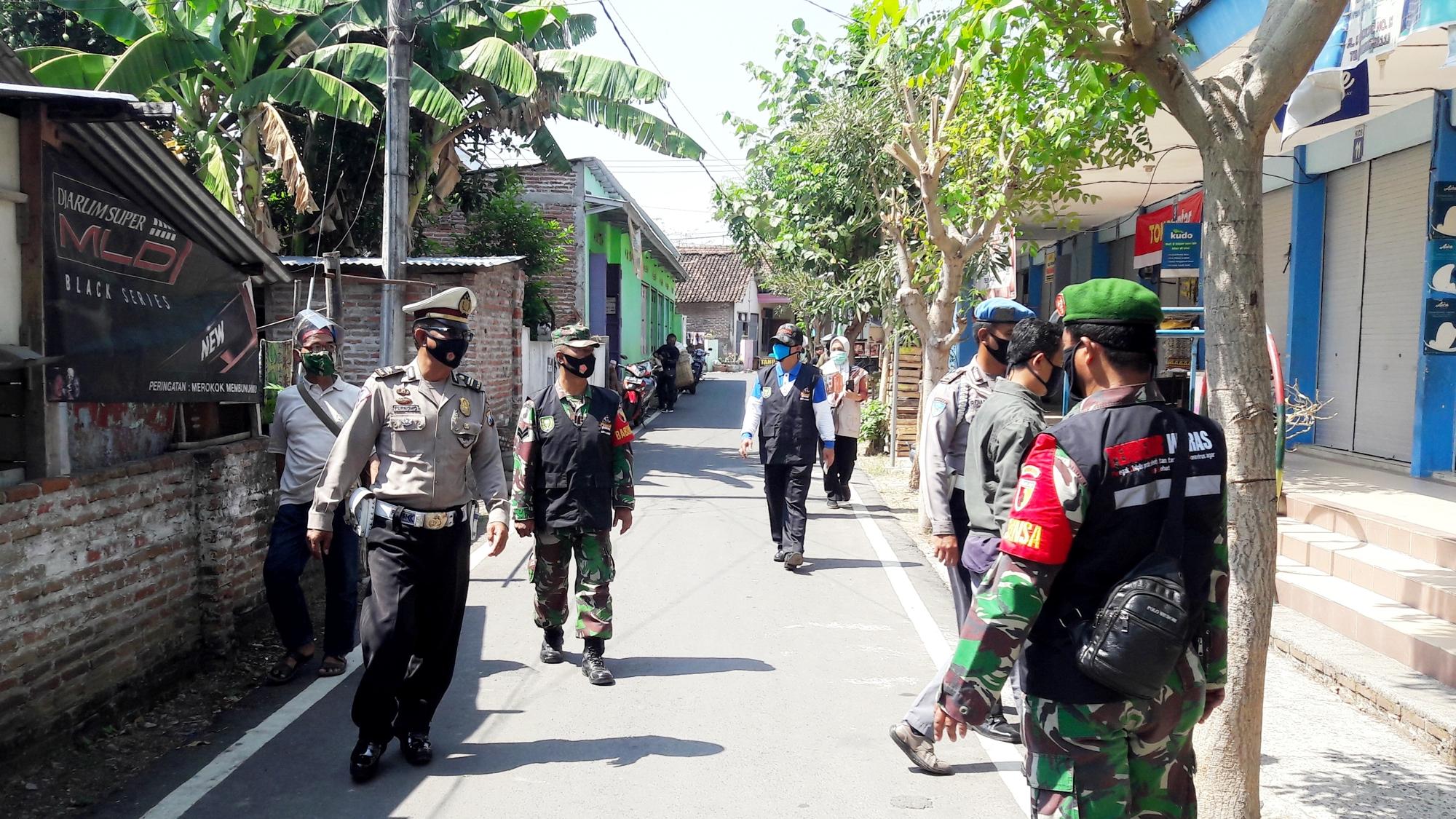 Operasi Yustisia Penegakan Hukum Protokol Kesehatan Di Wilayah Kelurahan Josenan