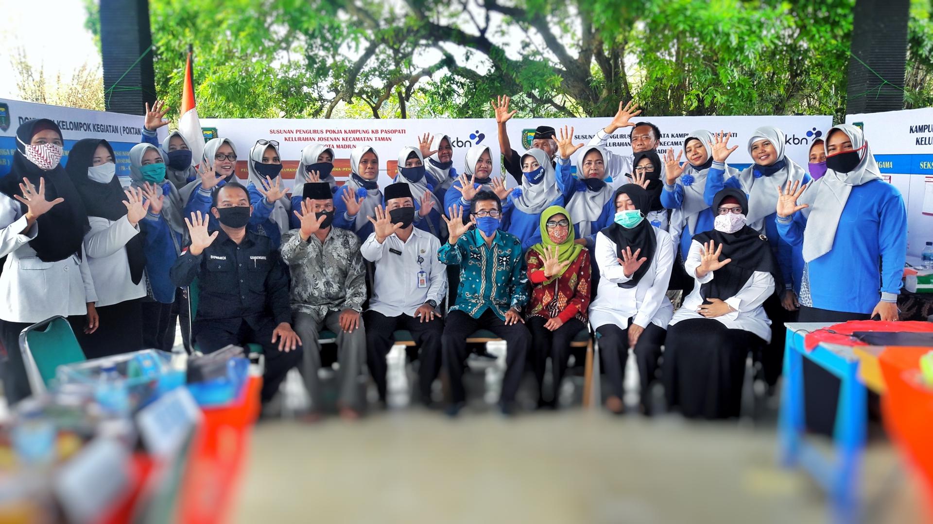 Lomba Kampung KB Tingkat Kota Tahun 2020 Di Kelurahan Josenan